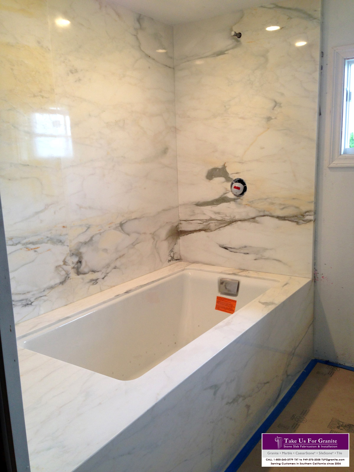Kashmere Cream Bathtub surround